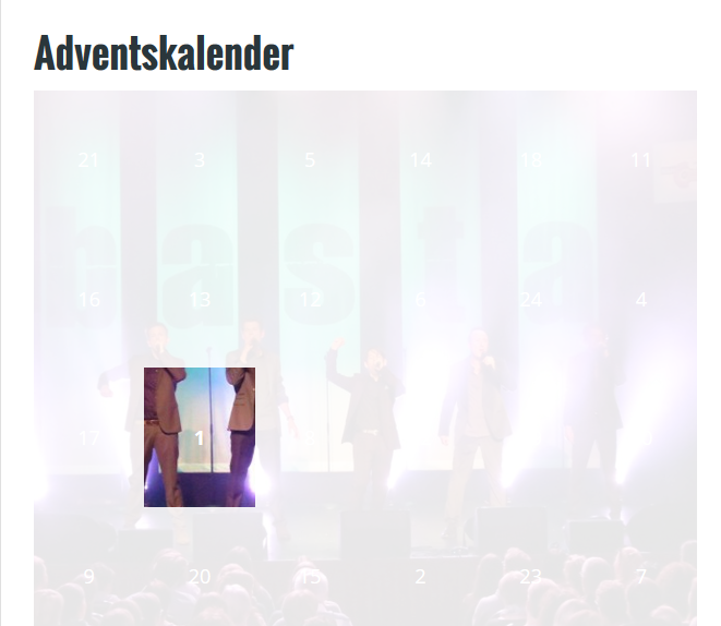 Screenshot Advent
